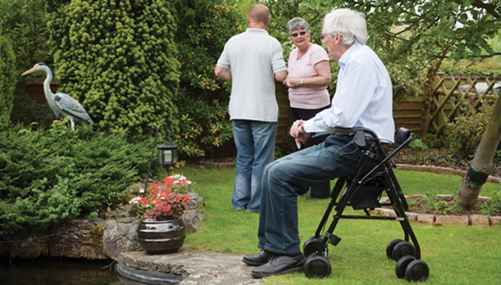 Regain your Freedom with a Uniscan walking frame